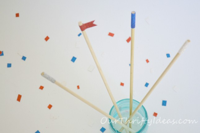 Glitter Stir Sticks for a mixed drink. Customize for holidays or to know who's drink is whos.