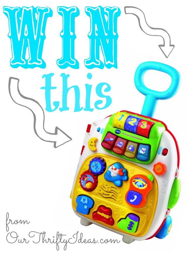 win a vtech suitcase from ourthriftyideas.com