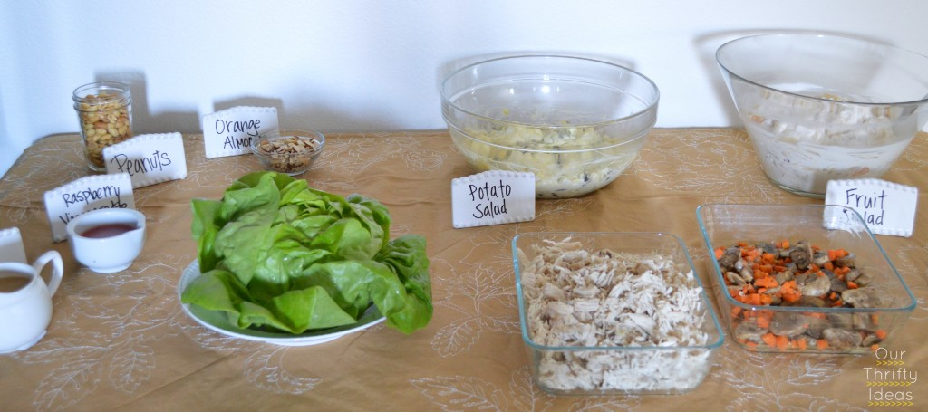 Lettuce Wraps with Land O Lake's Saute Express Butter