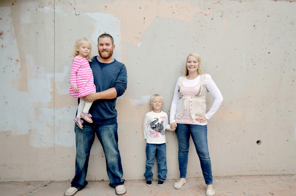 2013 Family Photos wearing Osh Kosh B'gosh