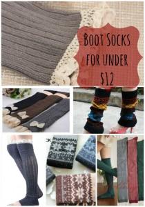 {Deal Shopping} Boot Socks