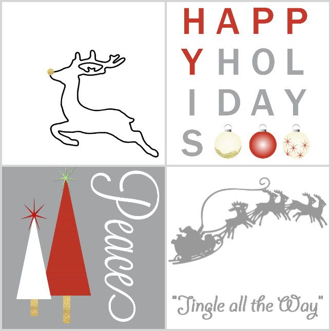 free holiday printables from outthriftyideascom printable free holiday