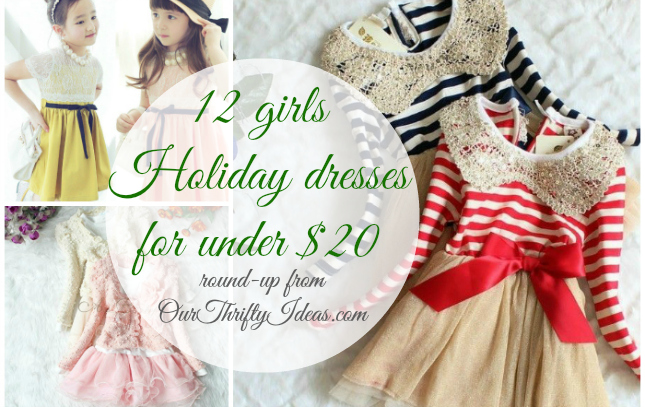 Deal Shopping Toddler Girl S Holiday Dress Our Thrifty Ideas