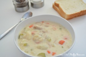 sick neighbor gift – turkey chowder recipe