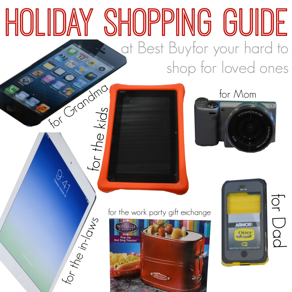 Holiday shopping guide at best buy | www.ourthriftyideas.com #onebuyforall #holiday #shopping #shop