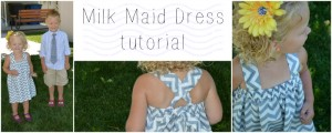milk maid dress tutorial