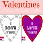 Color By Number – Valentines