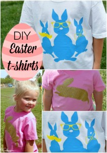 Easter Shirts – DIY tutorial
