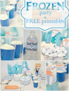 FROZEN party and free printables 295