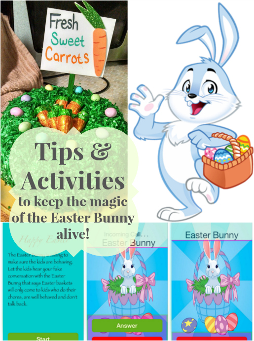 Did you know that the Easter Bunny can call your kids? Other great ideas like tracking The Easter Bunny and more in this round-up