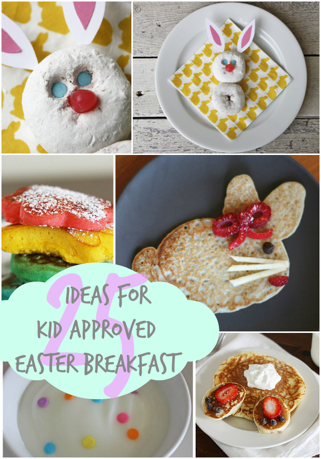 Easter breakfast ideas kid approved our thrifty ideas Fun easter brunch ideas