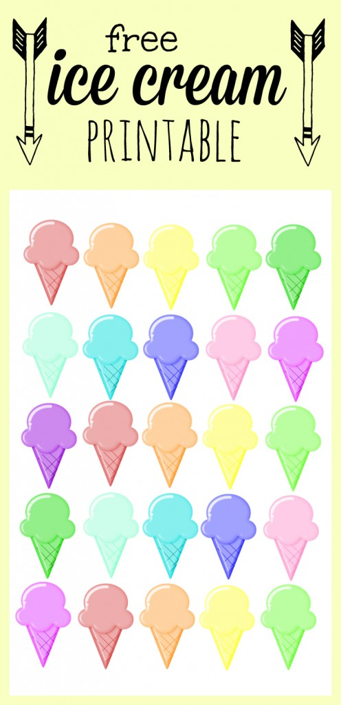 ice cream giveaway ideas