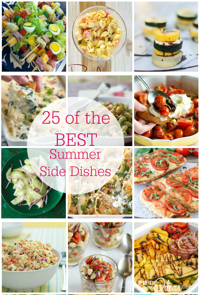 Amazing summer side dish recipes our thrifty ideas