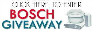 BOSCH giveaway button