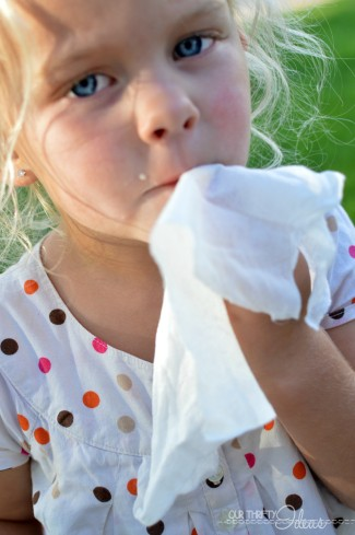 using Wet-Naps to keep kids clean this Summer