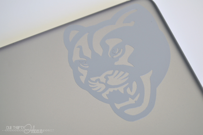 BYU mini iphone vinyl