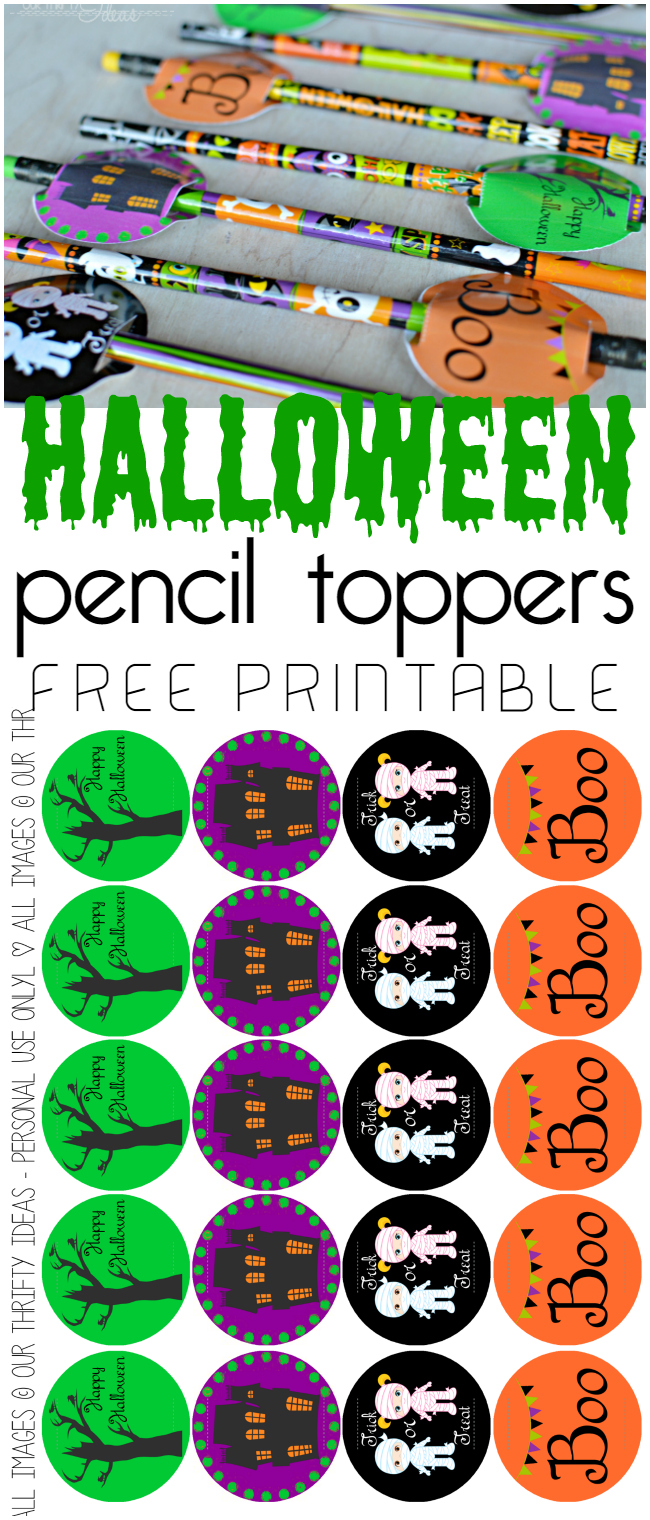 such a cute idea for a halloween gift for friends of even for trick or treaters - Free Printables For Halloween