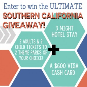 Enter to win an ultimate Southern California family vacation from Our Thrifty Ideas