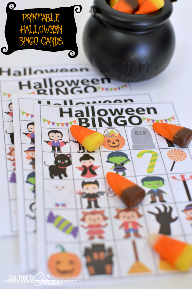 use these printable bingo cards for your halloween party its the perfect game for all - Free Printable Halloween Bingo Game Cards
