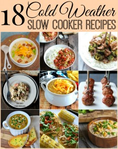 these are the best cold weather slow cooker recipes. Pull out your crockpot and let it do all the work for dinner!
