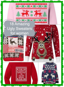 The BEST Women's Ugly Sweaters for Christmas