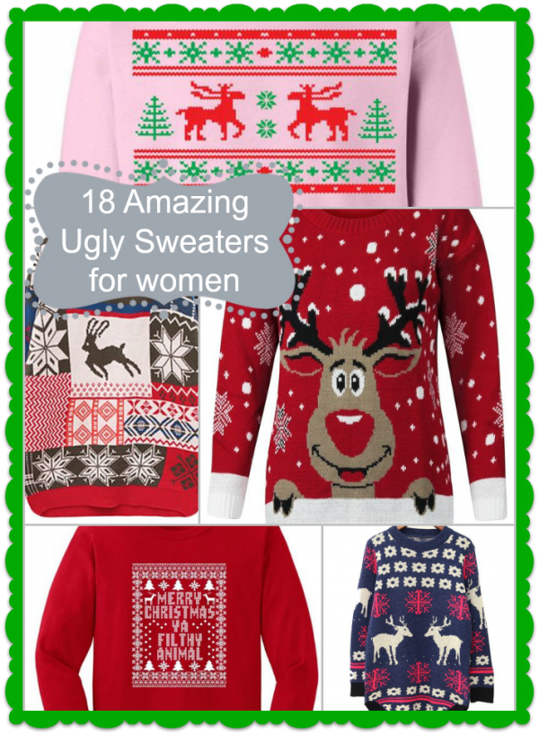 18 ugly sweaters for women