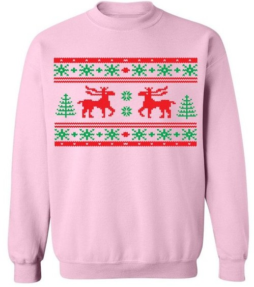 Pink Christmas Sweatshirt
