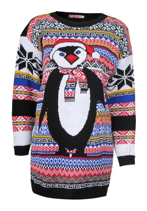 penguin ugly sweater