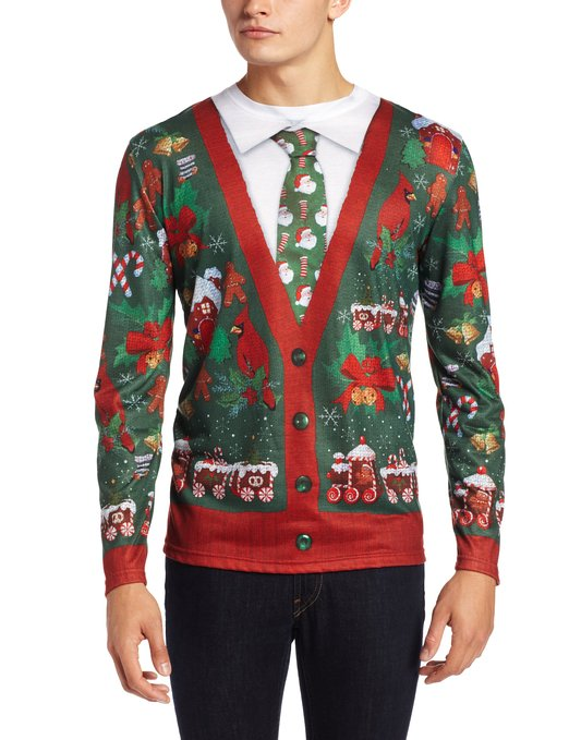 Men's Christmas Sweaters Men's Christmas sweaters should be designed with a sense of humor in mind. Unless you're a trueiupnbp.gq model with chiseled features and rock hard abs, you may look goofy in a funny Christmas sweater anyway.