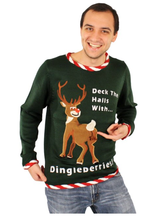 dingleberry christmas sweater - Best Christmas Sweaters