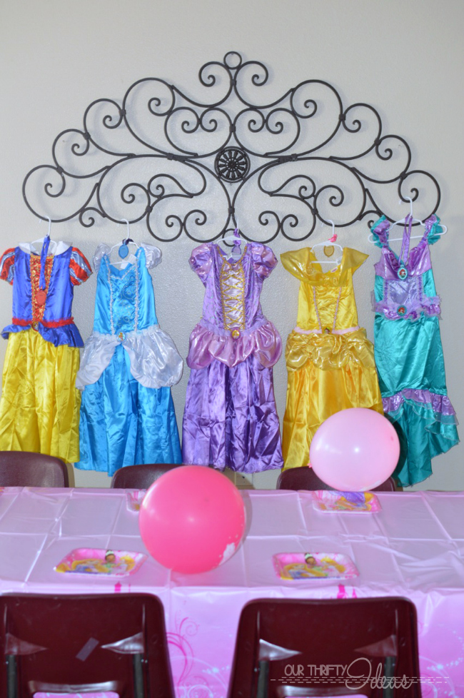 Princess Spa Day Party - Our Thrifty Ideas