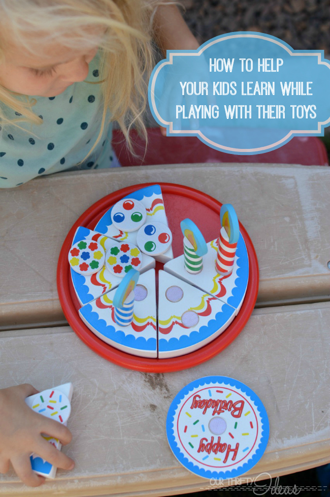 how to help your kids learn while playing with their toys