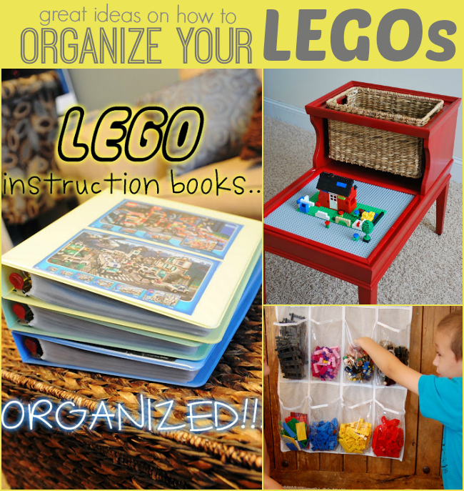 How to organize Legos - Our Thrifty Ideas