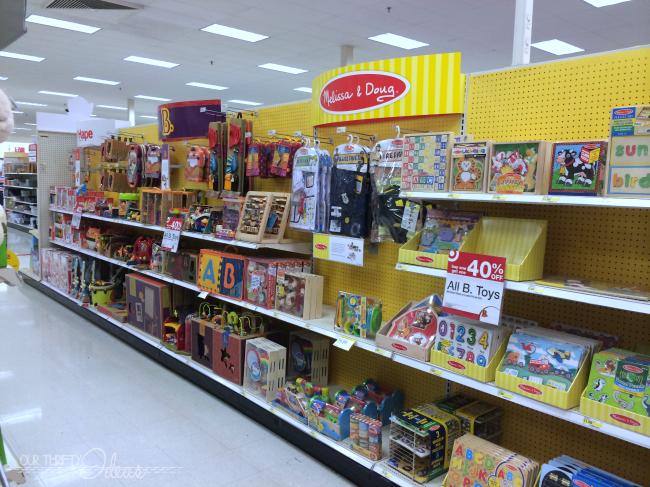 Target's toy emporium online