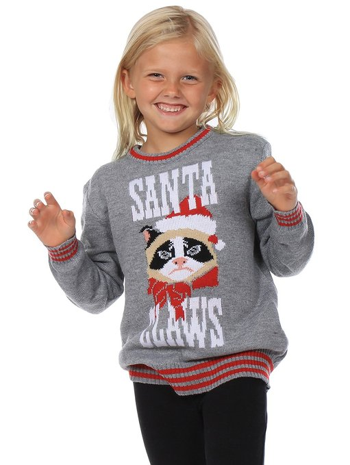 Santa Claws Christmas Sweater