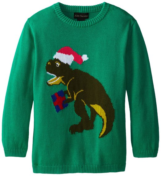 T-rex Ugly Christmas Sweater