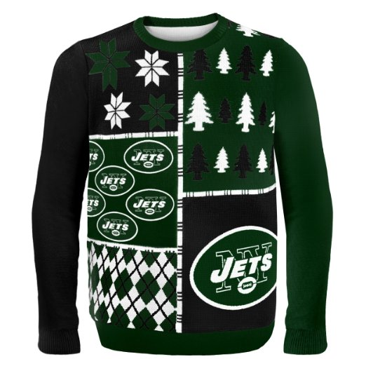 Jets Ugly Christmas Sweater