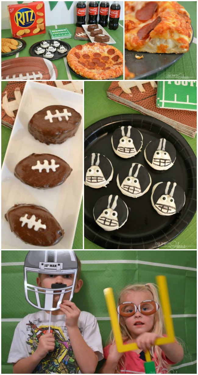 Such fun ideas for a football party. I've got to do some of these next time.