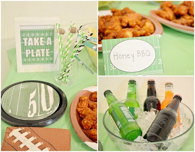 Football-party-layout