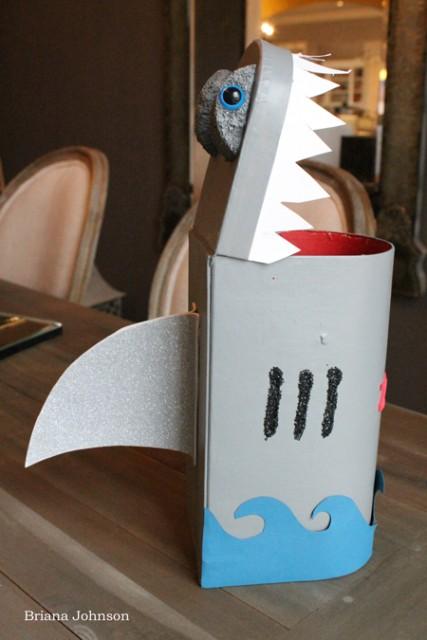 Shark Valentine Box