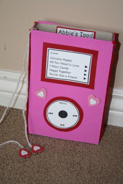 iPod Valentine box