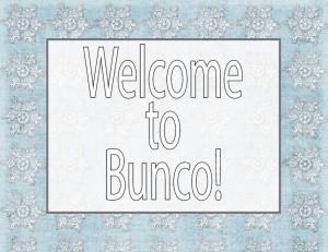 Winter Bunco Free Printables