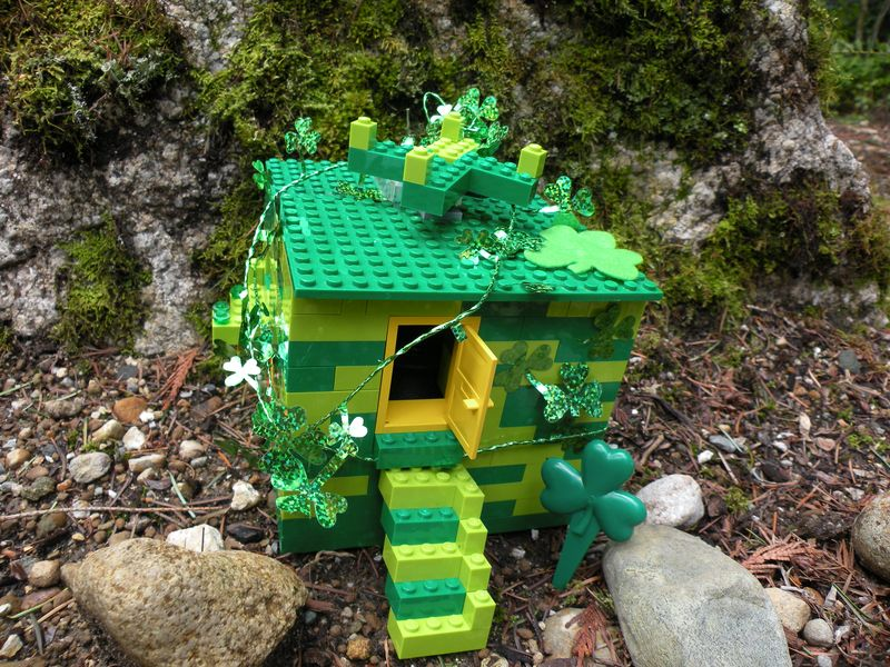 Leprechaun Trap Pictures Fun Lego Leprechaun Trap From