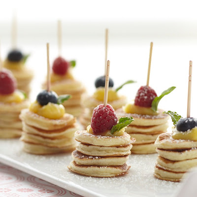 Lemon Curd Pancake Appetizers recipe