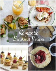 Romantic Breakfast ideas and recipes