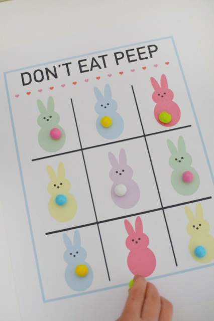 The perfect game for your kids or even for a fun party activity. Printable Don't Eat Pete