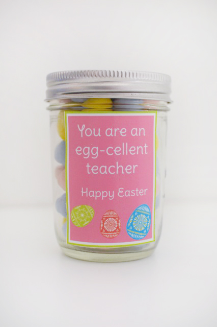 Egg cellent gift idea and printable our thrifty ideas printable tag for teachers kids spouse and neighbors let them know how negle Image collections