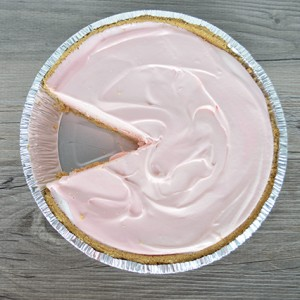 4 Ingredient Cherry Ice Cream Pie