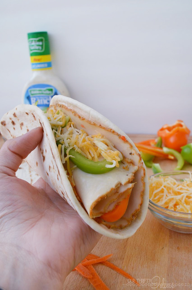 Summer Wrap with Veggies