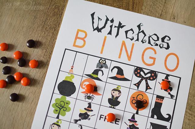 Halloween Witches BINGO